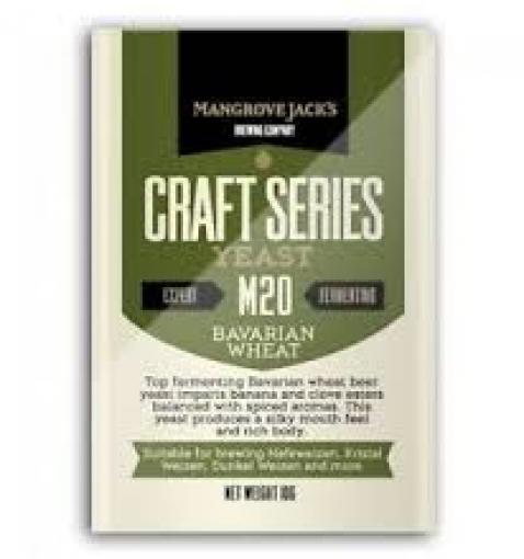 Mangrove Jack's Bavarian Wheat M20, 10 g.