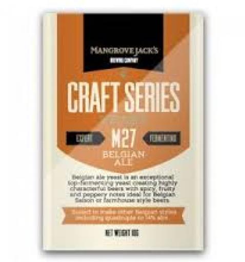 Mangrove Jack's Belgian Ale M41, 10 g.