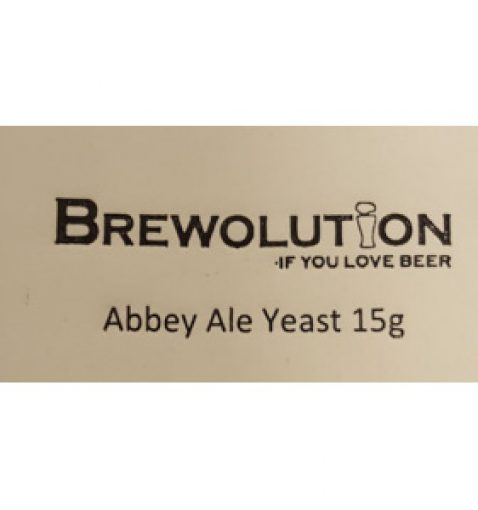 Brewolution Abbey Ale yeast 15 g