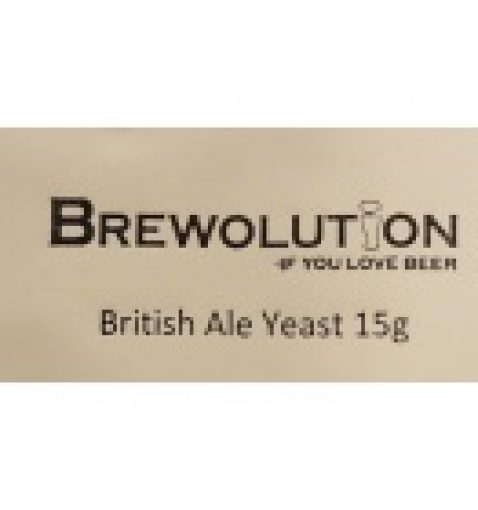 Brewolution British Ale Yeast 15 g
